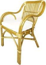 Ratanová jídelní židle AKROPOLIS, světlá J001Sb