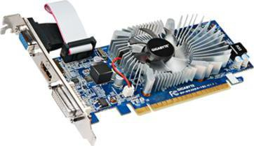 GIGABYTE VGA GV-N620D3-1GL GeForce GT620 1GB DDR3 nVidia (DVI+VGA +HDMI, LP lowprofile)