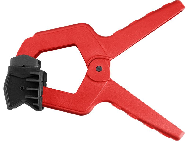 svorka pružinová plastová 3 v 1, 155mm, max. rozevření čelistí 50mm, nylon, EXTOL PREMIUM