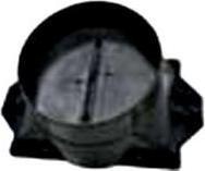 Příruba + klapka 125
