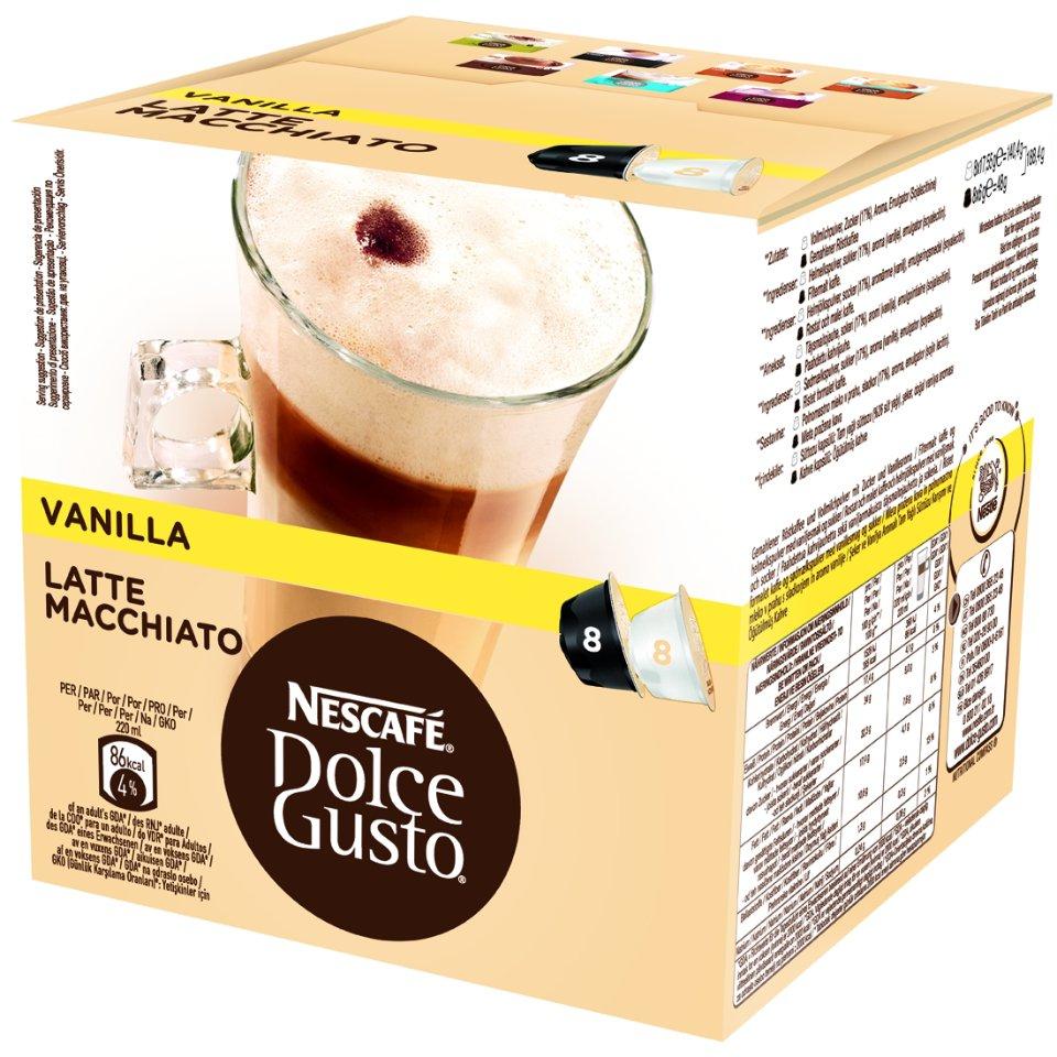 NESCAFÉ Dolce Gusto® Latte Macchiato Vanilla Kávové Kapsle
