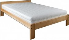 Masivní postel KL-194, 120x200, dřevo buk, výběr moření