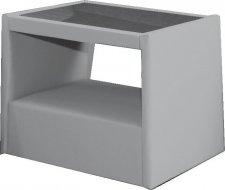 Čalouněný noční stolek LUBNICE IX výběr látek