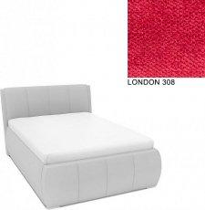 Čalouněná postel AVA EAMON UP s úložný prostorem, 140x200, LONDON 308