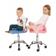 Dětská židle SELVA, modrá/chrom