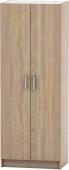 Šatní skříň BETTY 7, 2-dveřová, dub sonoma, BE07-009-00