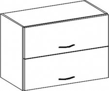 W80OKPP horní skříňka výklopná GREY