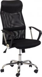 Kancelářská židle Q-025 černá/černá