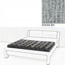 Čalouněná postel AVA CHELLO 180x200, OCEAN 824