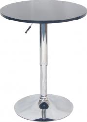 Kulatý barový stůl BRANY NEW, černá