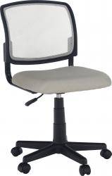 Dětská židle RAMIZA, šedá/černá