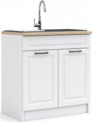 Kuchyňská skříňka Irma D80-2D1B bílá MAT