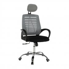 Kancelářská židle ELMAS, šedá/černá