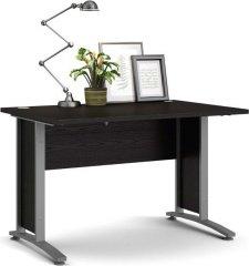 Kancelářský psací stůl Office 403/437 černá/silver grey