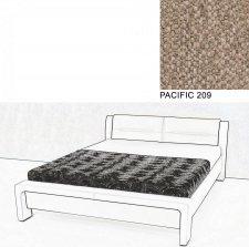 Čalouněná postel AVA CHELLO 180x200, PACIFIC 209
