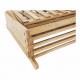 Regál, bambus, TOSEA