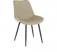 Židle, béžová / černá, SARIN