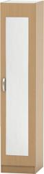Šatní skříň BETTY 2, 1-dveřová, buk, BE02-005-00