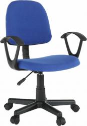 Kancelářská židle TAMSON, modrá/černá