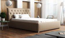 Čalouněná postel ANTONIO 160x200, výběr ekokůže