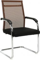 Konferenční židle ESIN, hnědá/černá