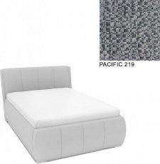 Čalouněná postel AVA EAMON UP s úložný prostorem, 140x200, PACIFIC 219