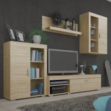 Obývací stěna, sestava MYSTIE dub sonoma