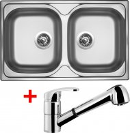 Sinks CLASSIC 800 DUO V+LEGENDA S - CL800VLESCL