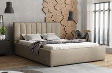 Čalouněná postel LUCINI 200x200, výběr látek