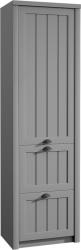Skříň do předsíně PROVANCE S1D2S, šedá