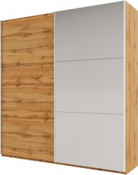 Šatní skříň RICHMOND 225, rodos, dub wotan