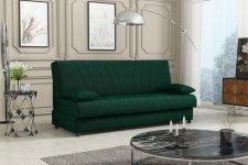 Rozkládací pohovka Chloe s úložným prostorem, zelená