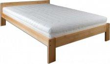 Masivní postel KL-194, 140x200, dřevo buk, výběr moření