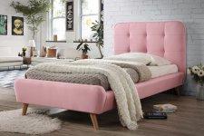 Postel TIFFANY 90x200 cm růžová