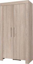 Šatní skříň Cezanne R2 sonoma