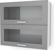 Kuchyňská skříňka Natanya KL1002W červený lesk