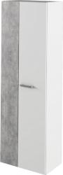 Skříň do předsíně SIMA bílá/beton