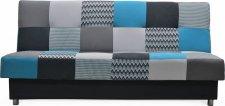 Rozkládací pohovka ZAPPA s úložným prostorem, modrá
