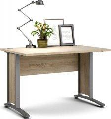Psací stůl Office 403/437 dub sonoma/silver grey