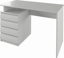 Psací PC stůl  HANY NEW, bílá