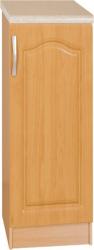 Spodní kuchyňská skříňka LORA MDF NEW KLASIK S30, pravá, olše