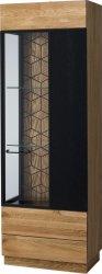 Vitrína MOSAIC 11, 1-dveřová pravá