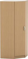 Rohová šatní skříň BETTY 2 buk, BE02-016-00
