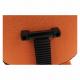 Kancelářská židle TAMSON, oranžová/černá