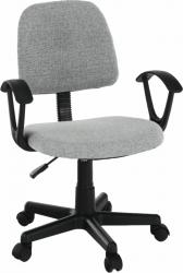 Kancelářská židle TAMSON, šedá/černá