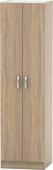 Šatní skříň BETTY 2, 2-dveřová, dub sonoma, BE02-004-00