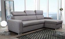 Rohová sedací souprava LEXINGTON, rozkládací s úložným prostorem, výběr barev