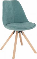 Jídelní židle SABRA, mentolová/buk