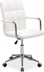 Kancelářská židle Q-022 bílá
