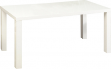 Rozkládací jídelní stůl ASPER NEW TYP 1, bílá lesk